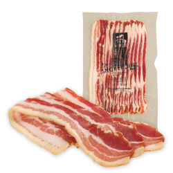 Bacon air-dried double manuka cold smoked