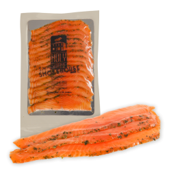 Premium Sea farmed Gravlax Salmon by Holy Smoke