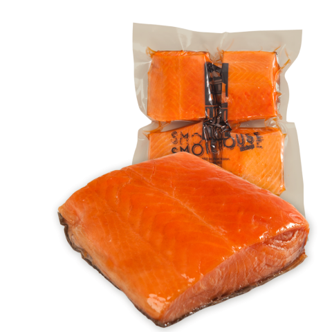 Hot Smoked Salmon Portions